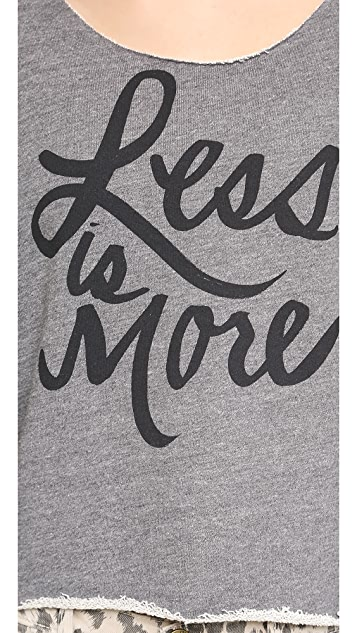 Sincerely Jules Less is More Sweatshirt