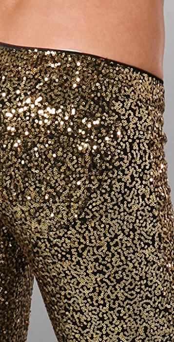 Siwy Hannah Slim Crop Sequin Legging