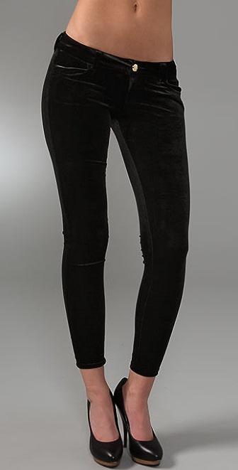 Siwy Velveteen Hannah Slim Crop Pants
