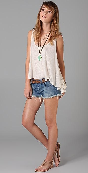 Siwy Alexa Zipper Shorts