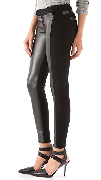 Siwy Bianca Seamed Coated Pants