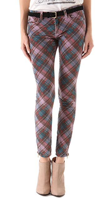 Siwy Abbeylee Zip Cropped Pants