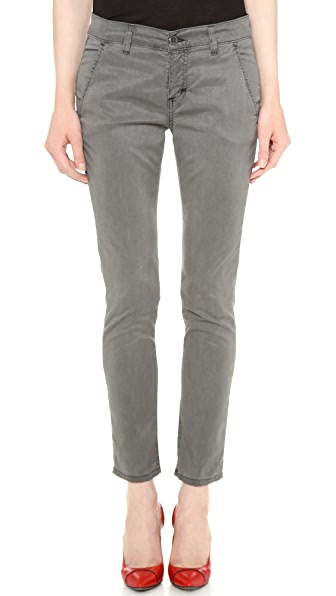 Siwy Fiona Slouchy Cropped Chino Pants