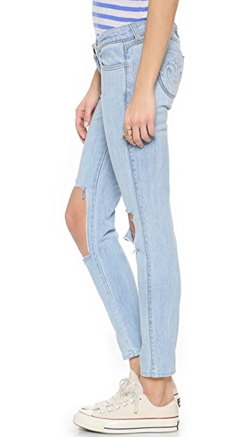 Siwy Hannah Distressed Skinny Jeans