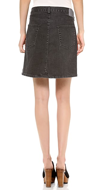 6397 Twisted Skirt