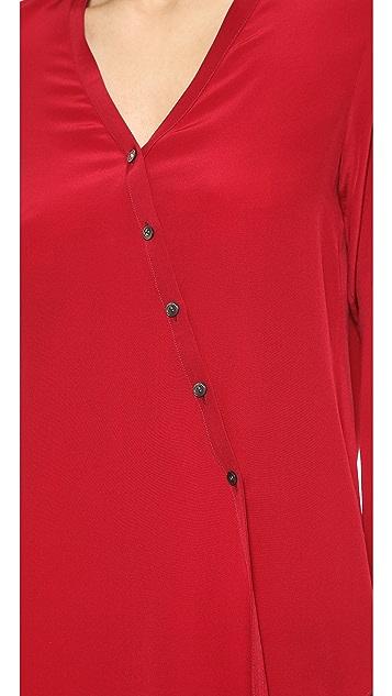6397 Collarless Shirt