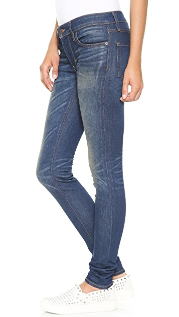 6397 Dark and Dirty Skinny Jeans
