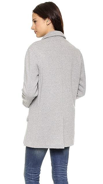 6397 Fleece Blazer