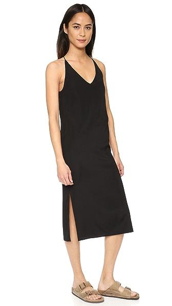 6397 V Neck Slip Dress