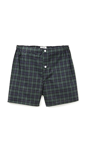 Sleepy Jones Black Watch Jasper Boxers