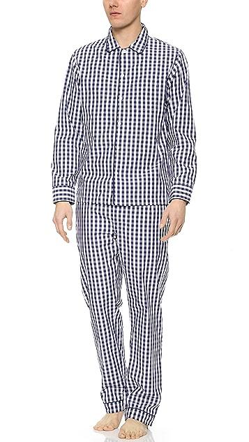 Sleepy Jones Gingham Marcel Pajama Pants