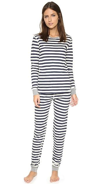 Sleepy Jones Helen Pajama Shirt
