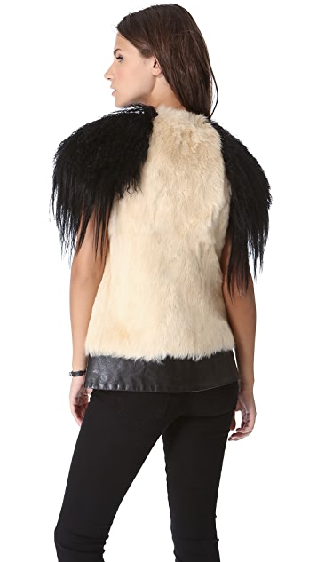 Skaist Taylor Mixed Fur Vest