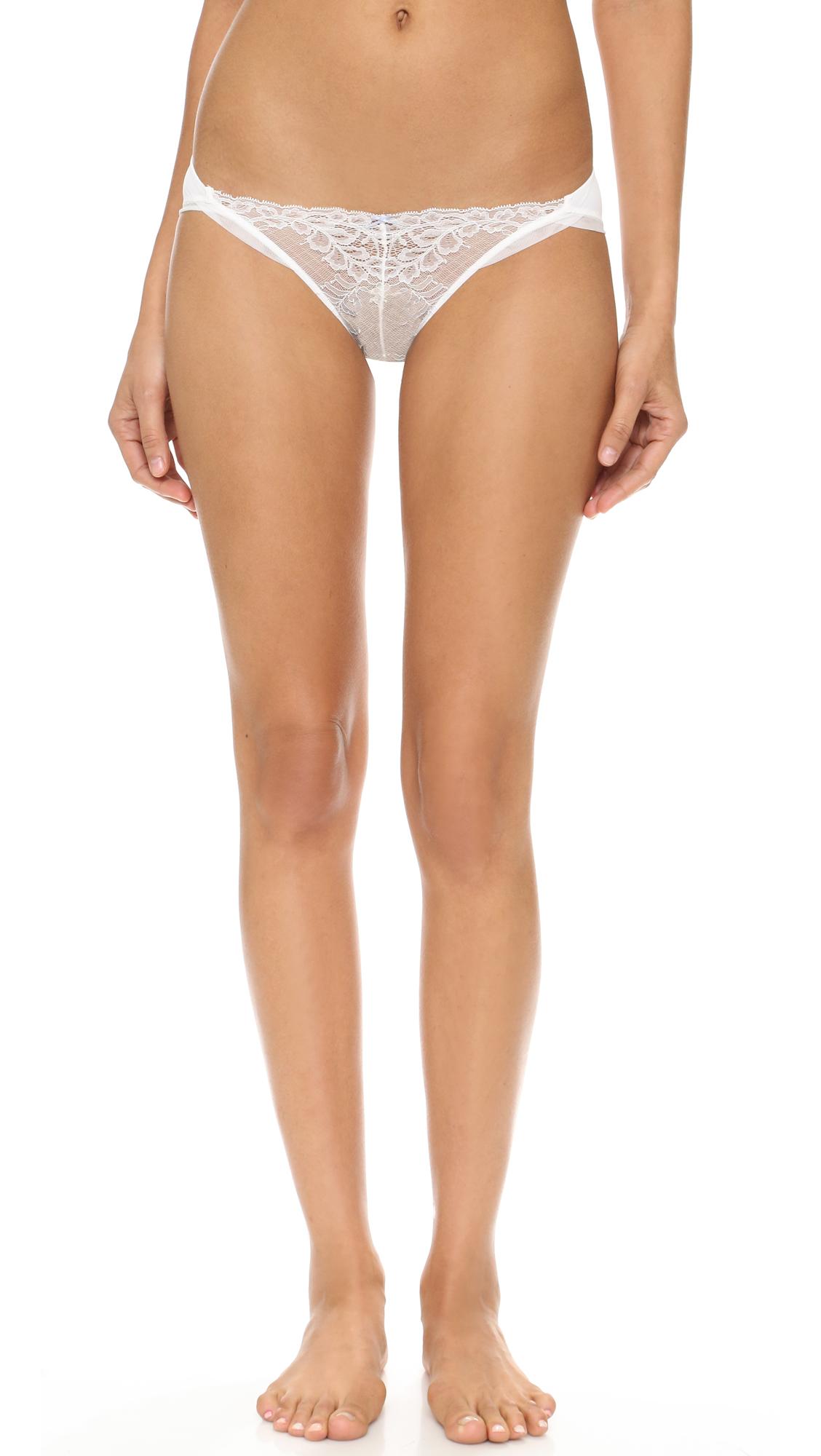 Skarlett Blue Socialite French Bikini Briefs - Light Ivory