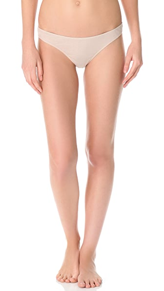 Skin Solid Thong