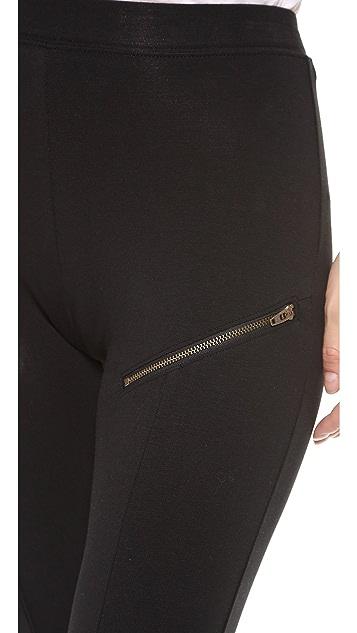 Skin Zip Leggings
