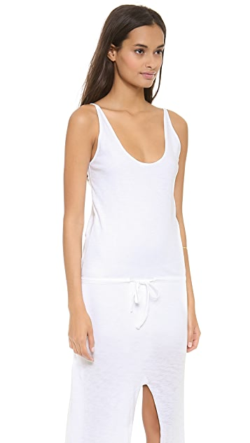 Skin Drawcord Dress