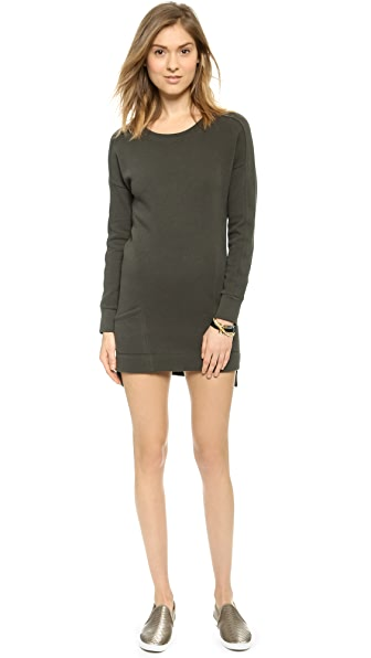 Skin Sweatshirt Dress