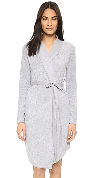 Skin Terry Robe with Inset Belt