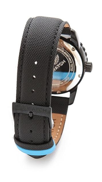 SKYWATCH 38mm Bezel Watch