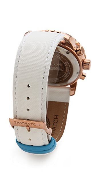 SKYWATCH 44mm Chronograph Watch