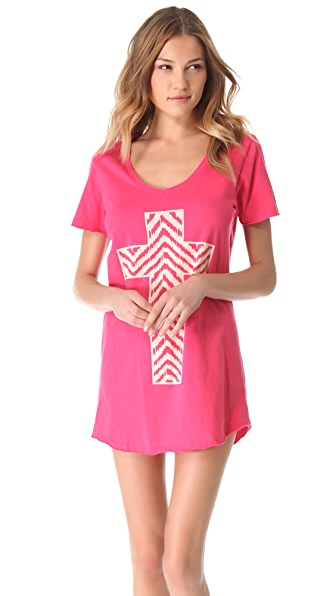 Sleep'n Round T-Shirt Sleep Dress