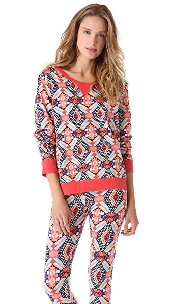 Sleep'n Round Round Long Sleeve Top