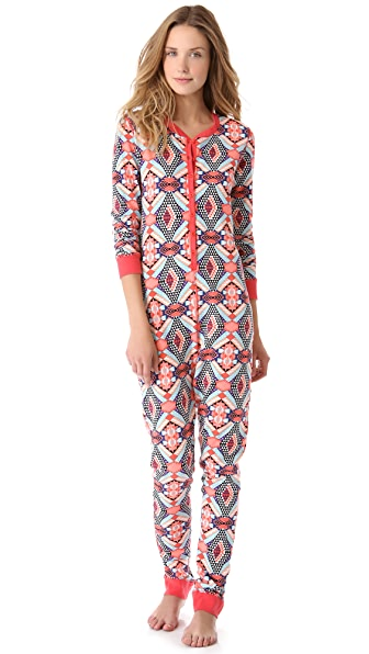 Sleep'n Round Long Sleeve Jumpsuit