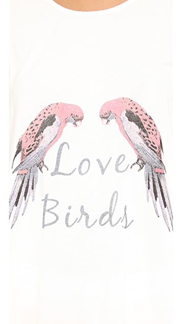 Sleep'n Round Love Birds Tank