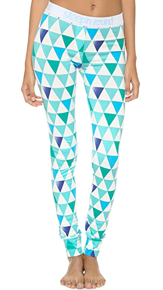 Sleep'n Round Pina Logo Leggings