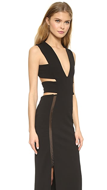 Solace London Marvin Maxi Dress