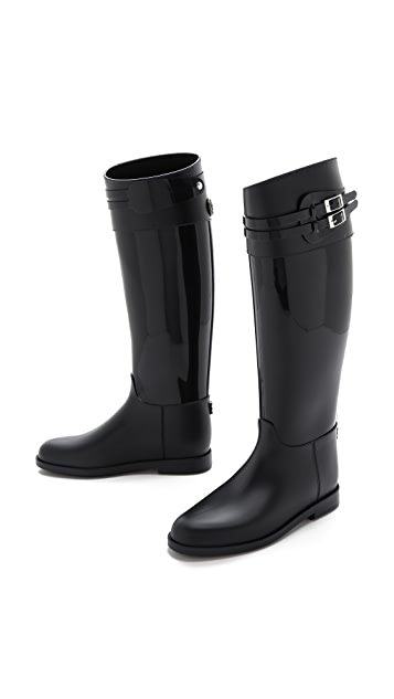 SLOOSH Italy Classic Glossy Tall Rain Boots
