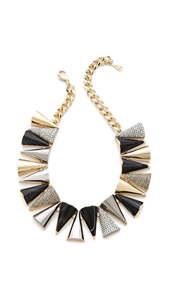 Sarah Magid Agate Pave Cone Necklace