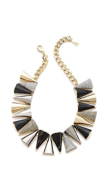 Sarah Magid Agate Pave Cone Necklace