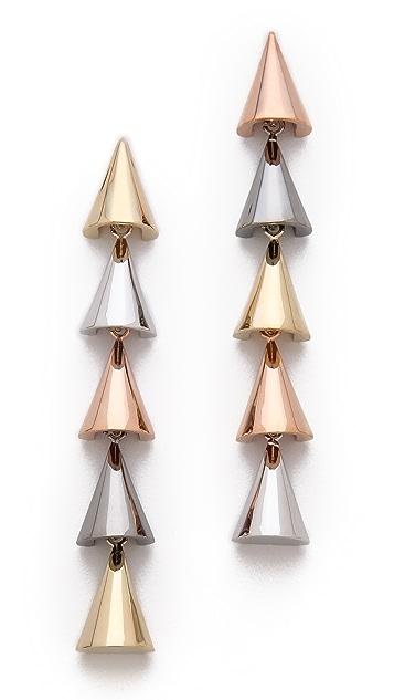 Sarah Magid Mini Cone Linear Earrings