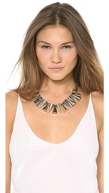 Sarah Magid Large Mixed Metal Cone Necklace