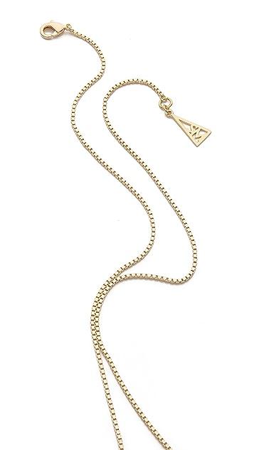Sarah Magid Large Metal Cone Pendant Necklace