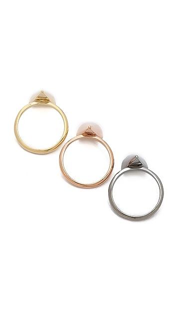 Sarah Magid Mini Metal Cone Rings