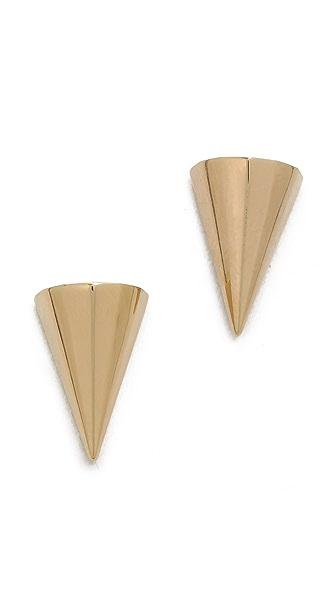 Sarah Magid Mini Metal Cone Stud Earrings