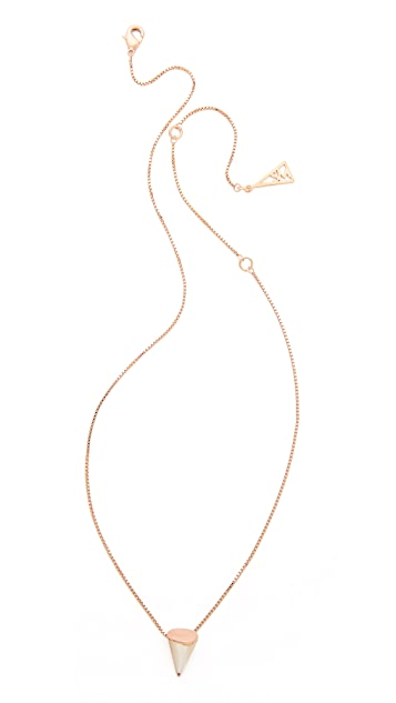 Sarah Magid Mother of Pearl Pendant Necklace