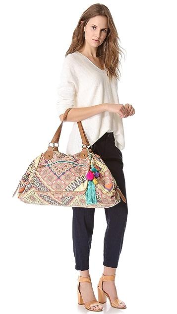 Star Mela Nirali Print Weekender Bag