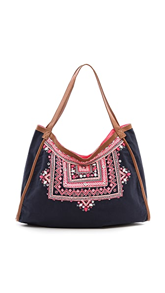 Star Mela Myla Embellished Large Bag