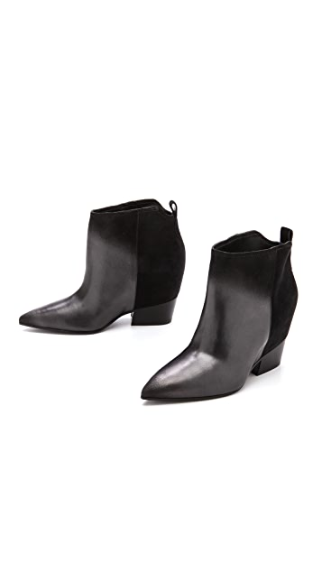 Sigerson Morrison Aerial Wedge Booties