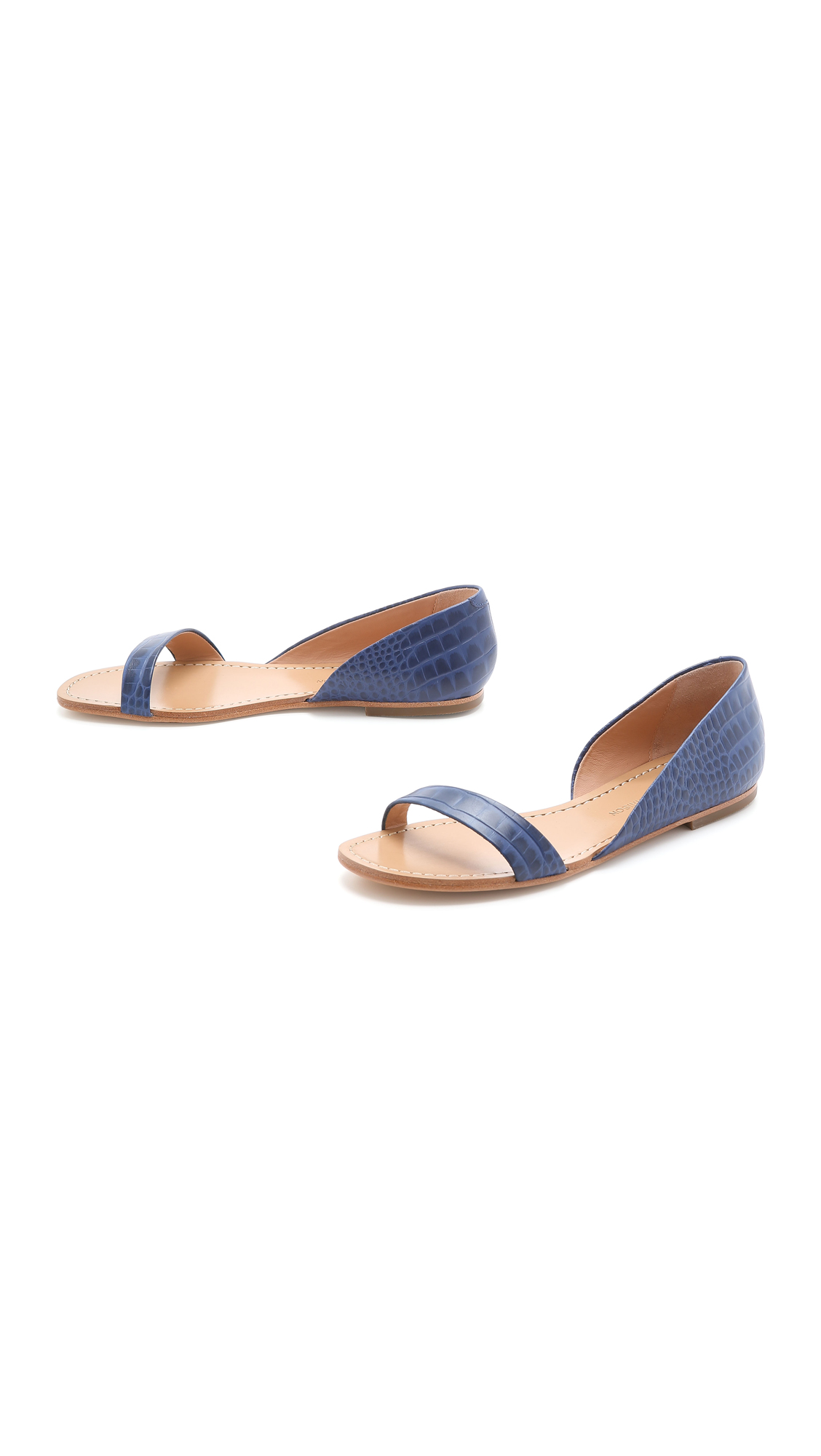 d7b86930bb17 Sigerson Morrison Kameda Flat Sandals