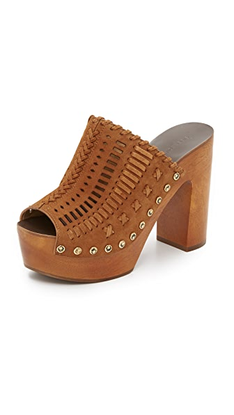 Sigerson Morrison Queen Open Toe Clogs