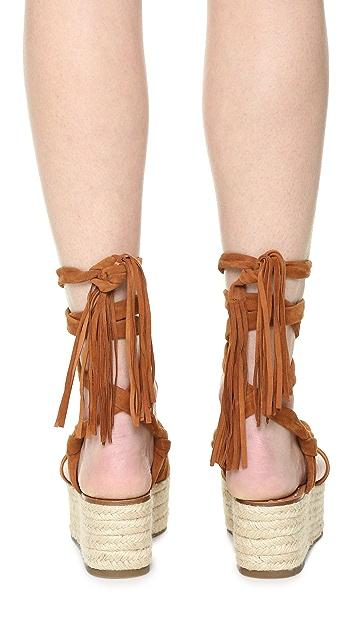 Sigerson Morrison Cosie Flatform Sandals