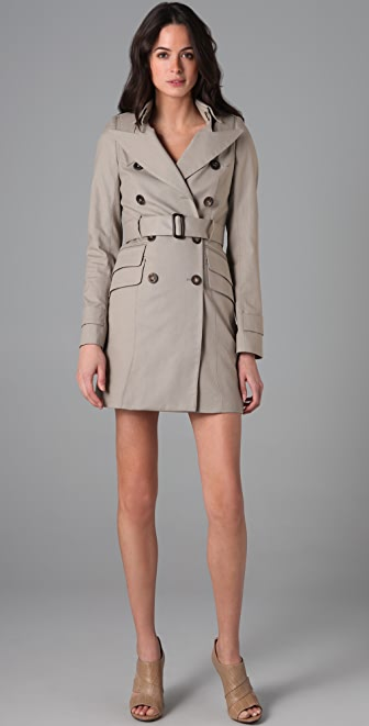 SMYTHE Clean Trench Coat
