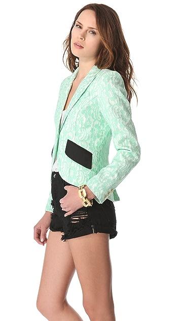 SMYTHE Lace Blazer