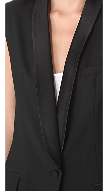 SMYTHE Tuxedo Vest