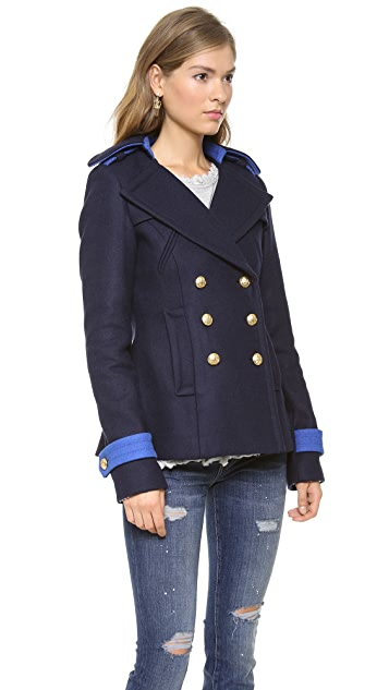 SMYTHE Classic Pea Coat
